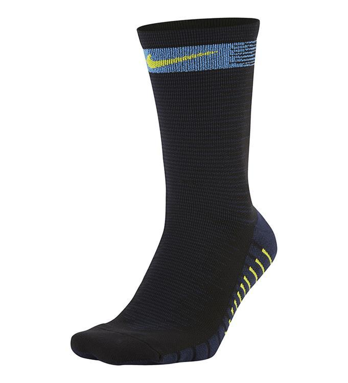 Nike Squad Crew Socks Black/Royal Blue/Bright Cactus