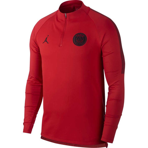 Paris Saint-Germain Squad Drill Top University Red/Black/Black