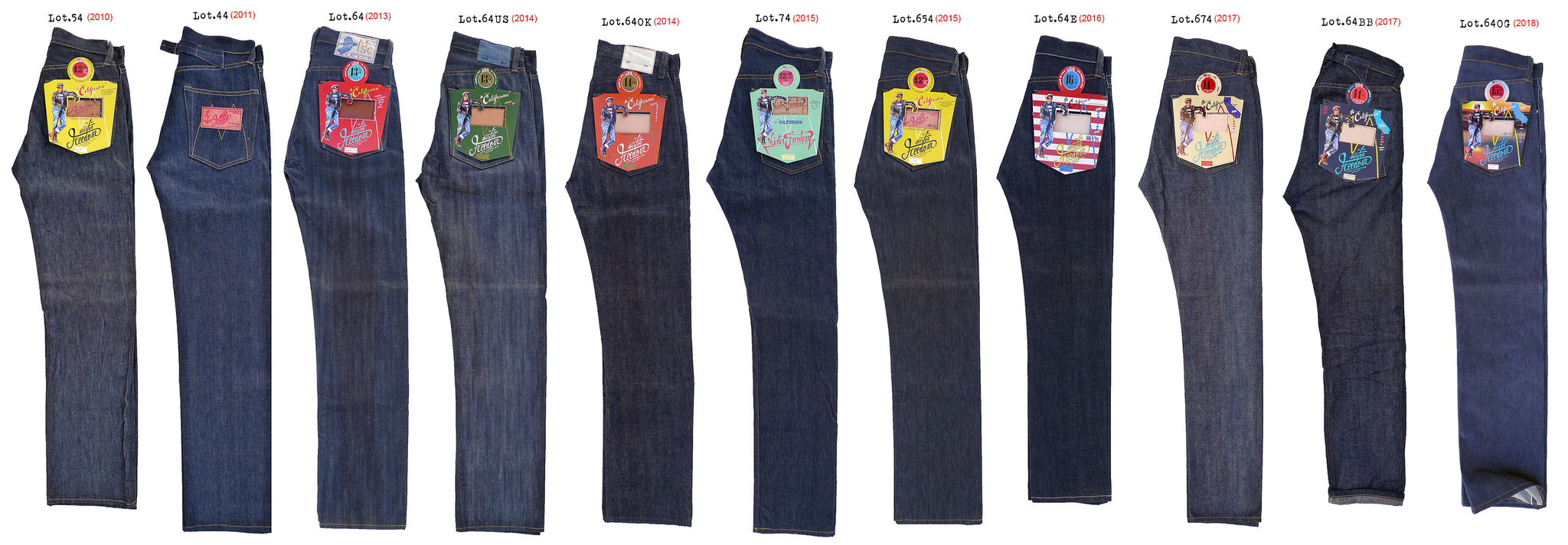 Mister Freedom®CALIFORNIAN Family - Blue Jeans made in USA