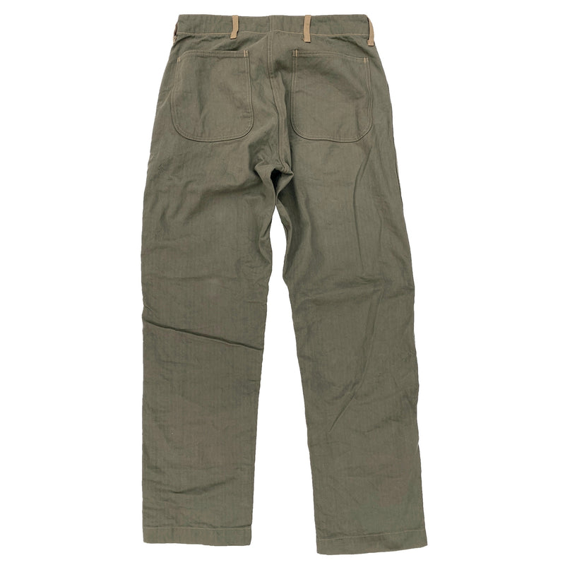 Raiders Fatigues - Olive Drab HBT