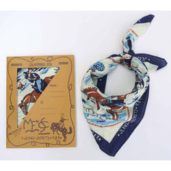 Ranch Kerchief - Navy