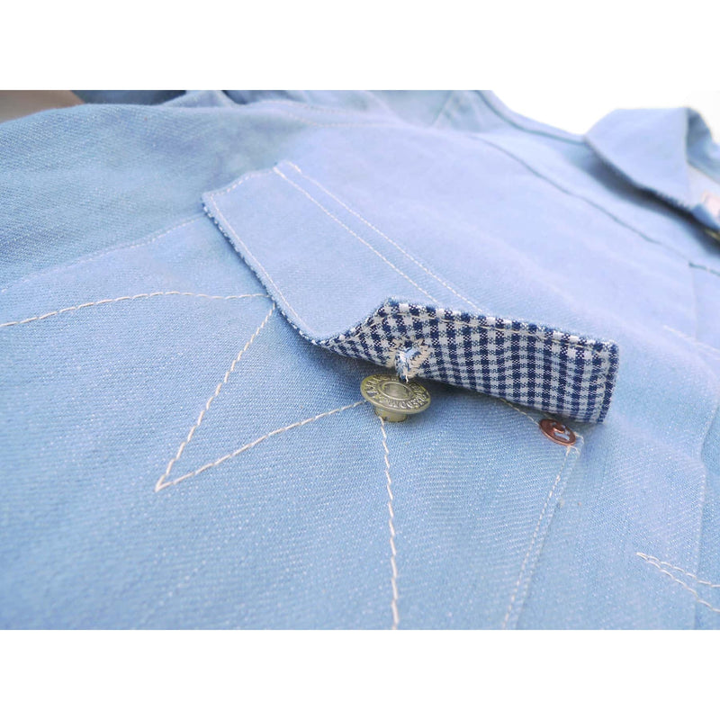 Ranch Blouse - ICE-BLU Denim
