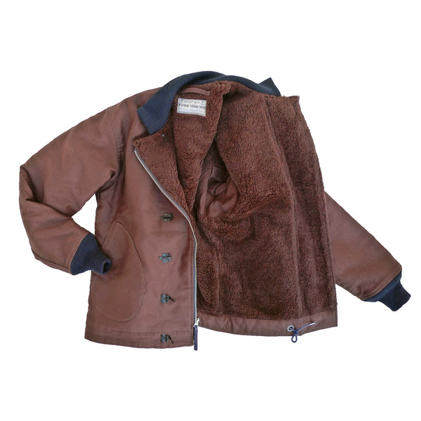N-1H Deck Jacket Burnt Umber
