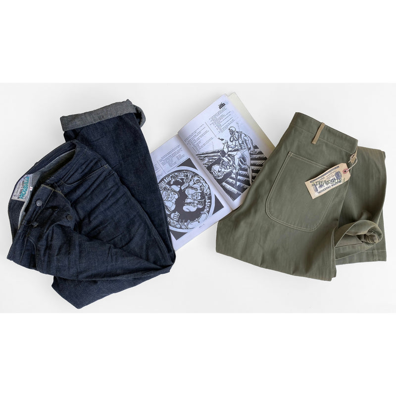 "Raiders Fatigues - 2x1 ""Army"" Denim"