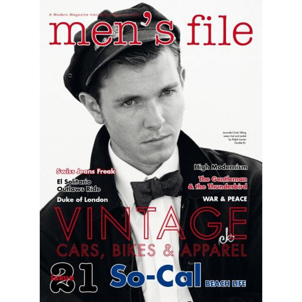 Men's File 21 x Clutch Magazine Vol. 71