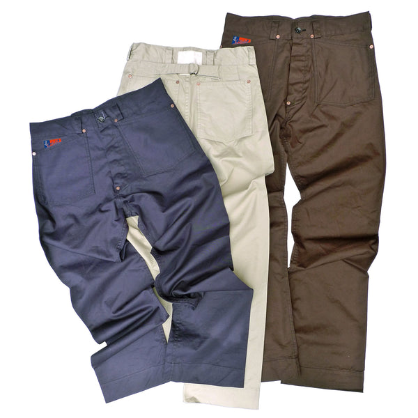 Shipyard Chinos - Brown
