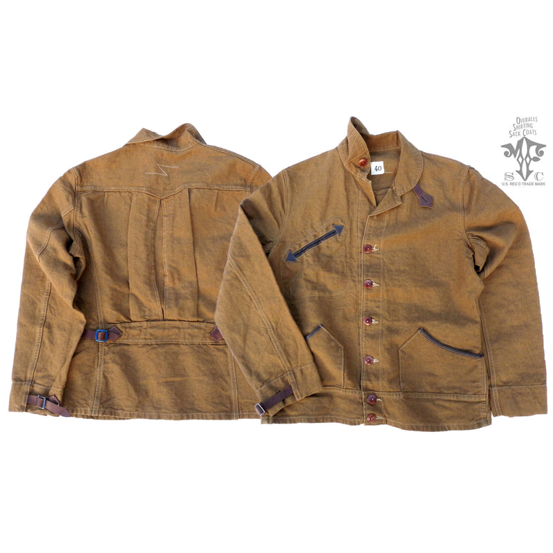 Chaparral Blouse - Brown Canvas