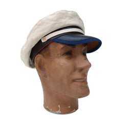 Roasteader Cap - NOS White Denim