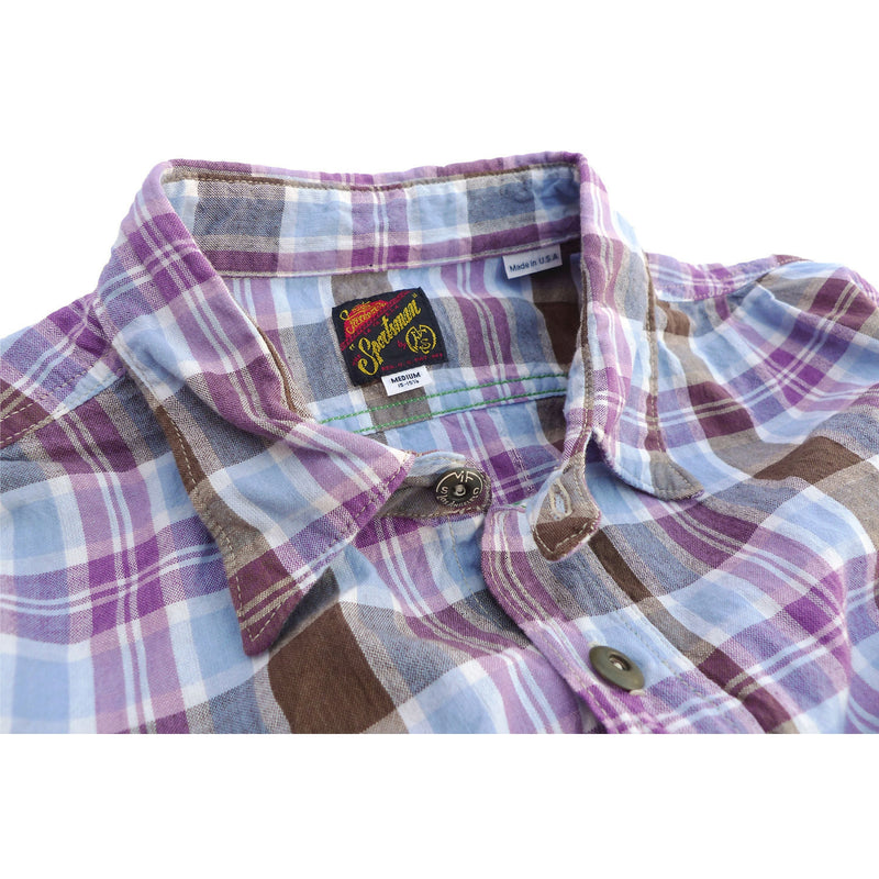 "Sportsman Shirt ""Indian Madras"" - Beach"