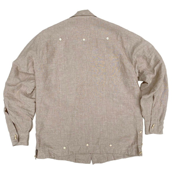 Meridana Shirt - Oatmeal Chambray