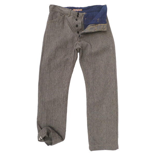 El Americano Trousers - Covert