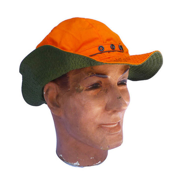 Patrol Hat - Green Orange