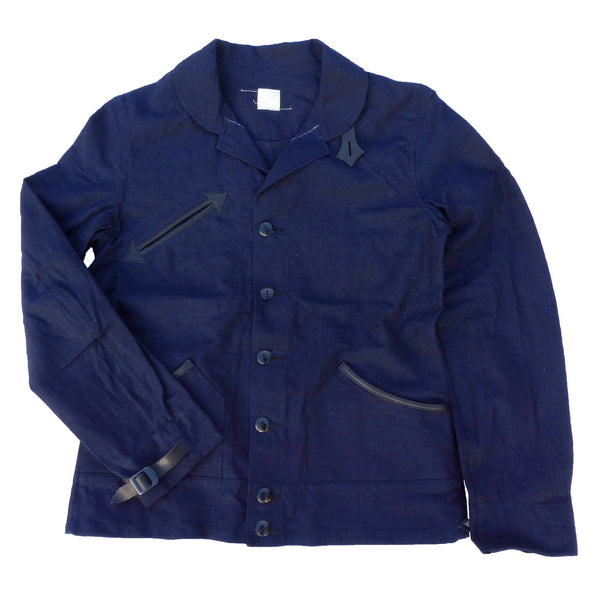 Chaparral Blouse - Indigo Canvas