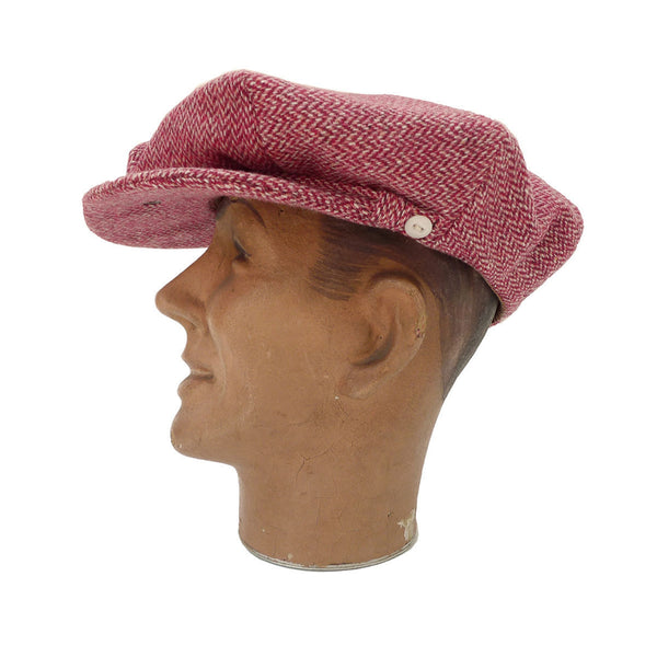 Casquette La Deffe - Red HBT Tweed