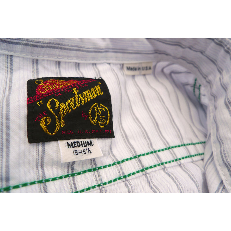 "Sportsman Shirt ""Pit Stop"" - White"