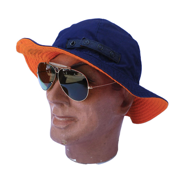 Patrol Hat - Navy Orange