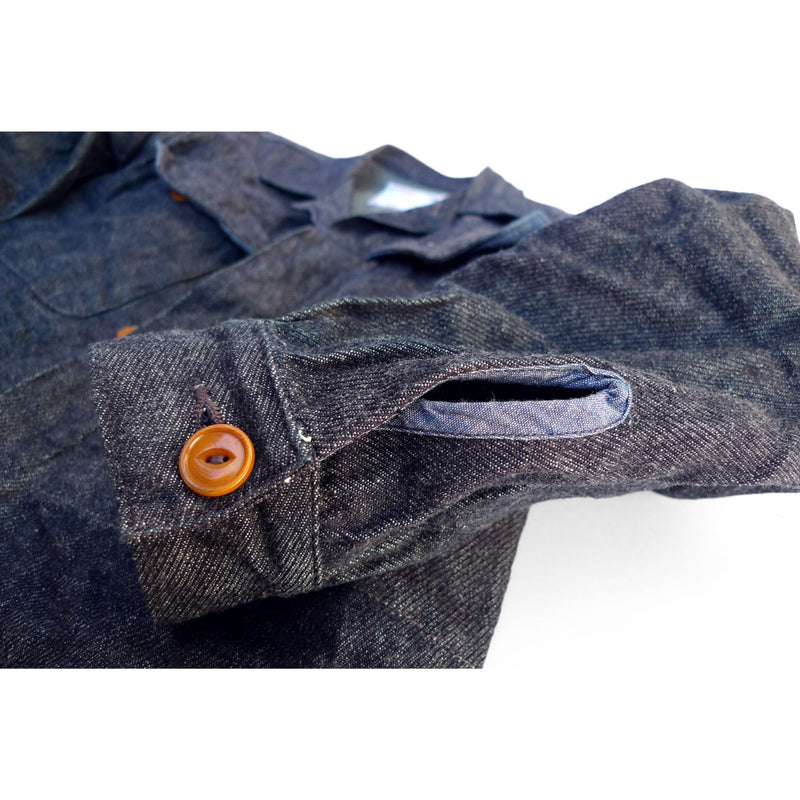Map Shirt - Cavalry Twill