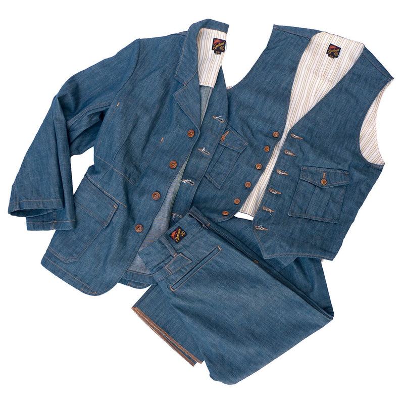Continental Vest - Player Denim
