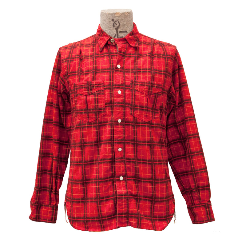"Sportsman Shirt ""Camp Flannel"" - Red"