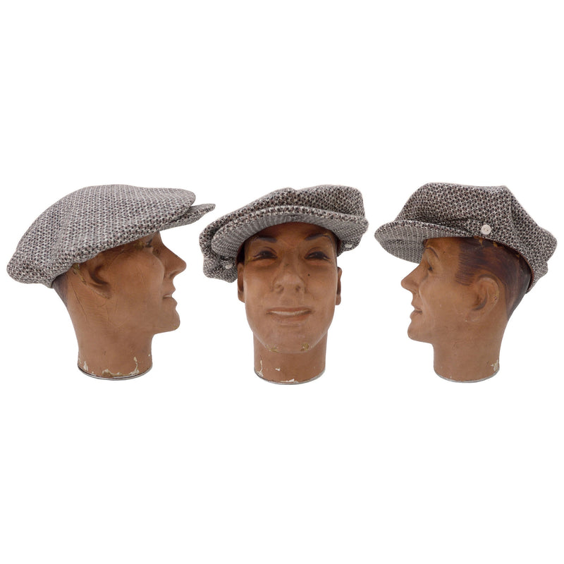 Casquette La Deffe - Brown Houndstooth