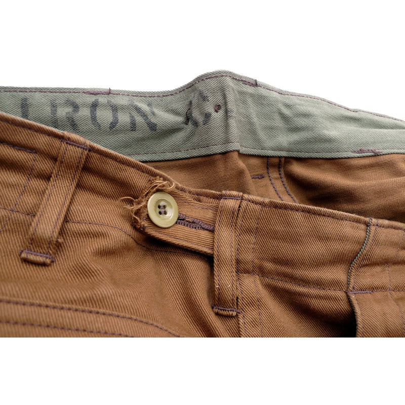 Crew Pants - Brown Twill