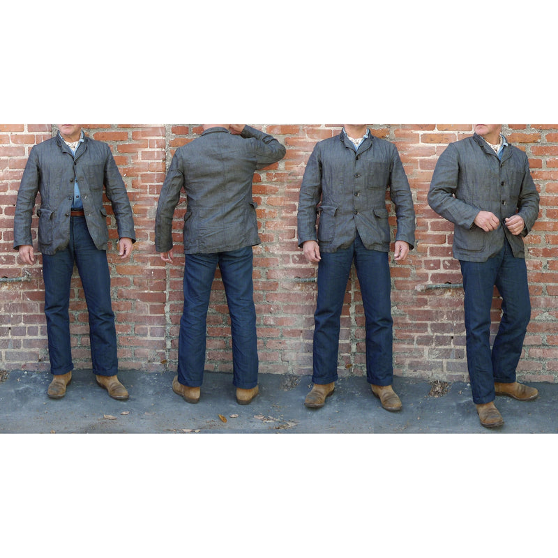 Continental Sportcoat - Charcoal