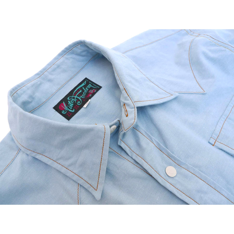 Dude Rancher - Vat-dyed Chambray