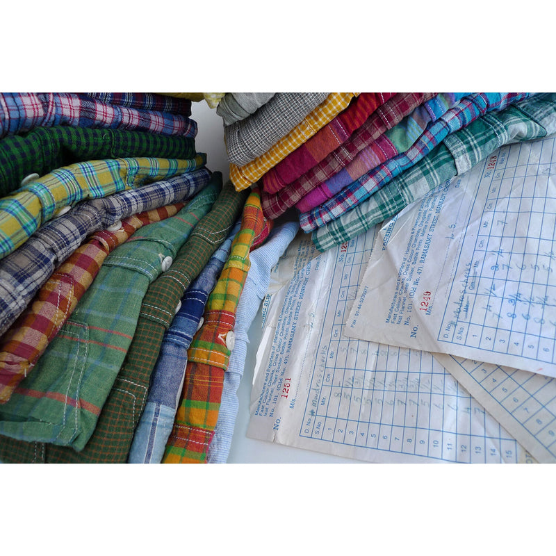 Ranger Shirt Lot 100 NOS Madras