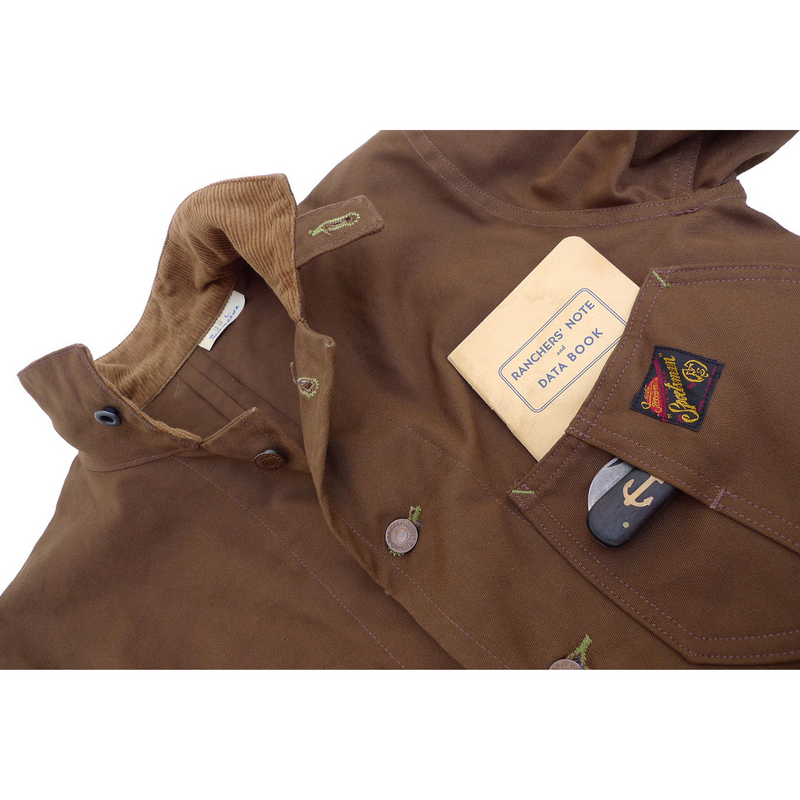 Conductor Jacket - Cachou Duck Canvas