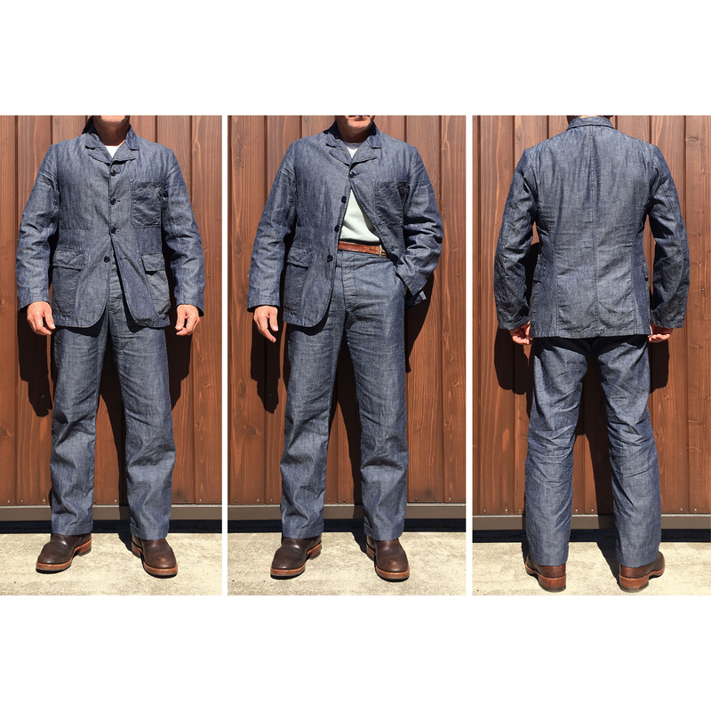Continental Sportcoat - Chambray