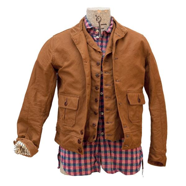 Blouson El Americano - Brown Duck Canvas