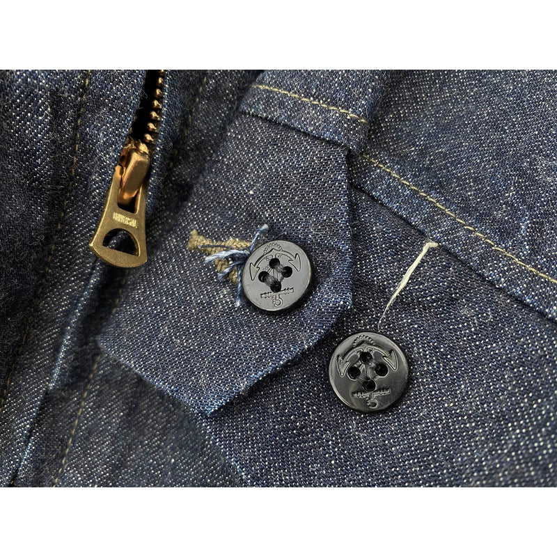 "Advisor Jacket - 2×1 ""Army"" denim (COMING SOON)"