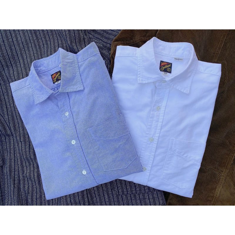 Aristocrat Shirts, blue and white oxford cloth