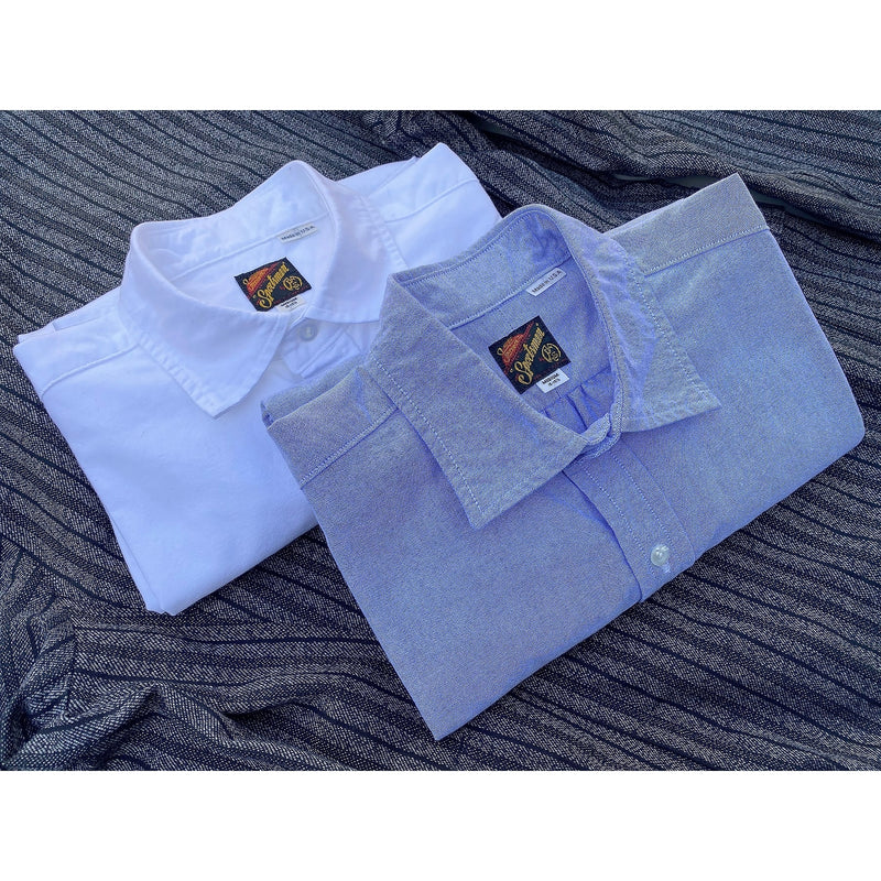 Aristocrat Shirt - Blue Cotton Oxford