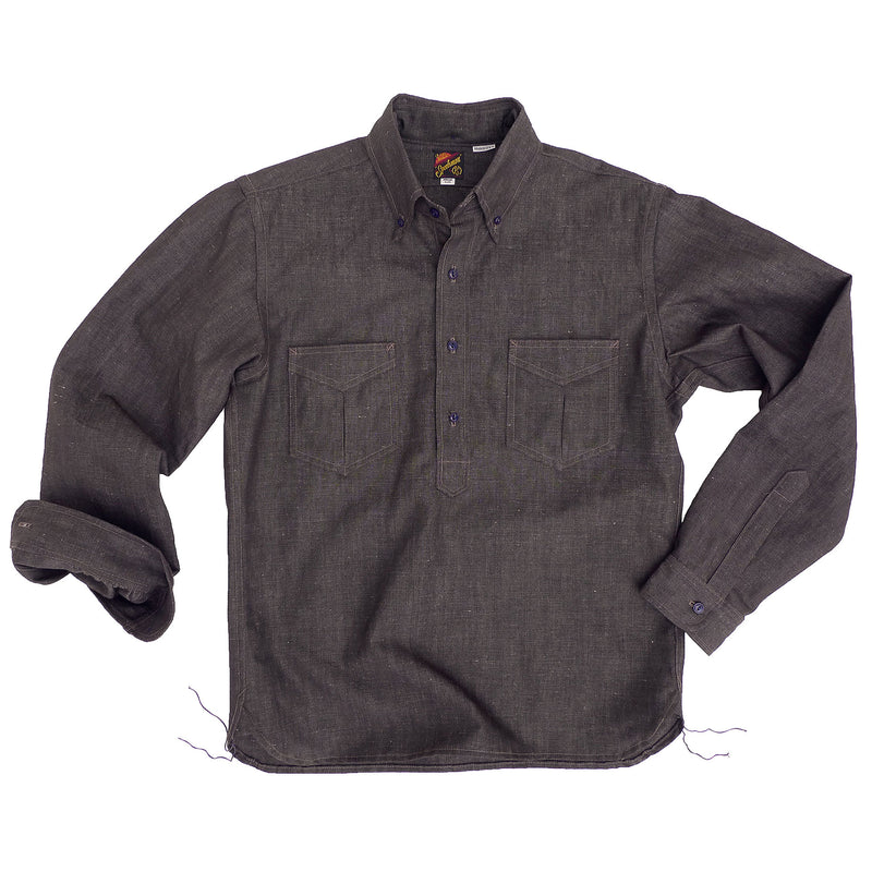 Berkeley Pull Over Shirt - Cacao