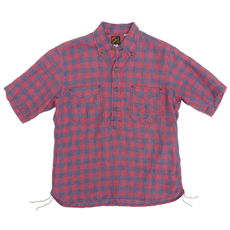 Berkeley Shirt S/S - Linen Check