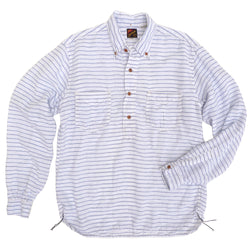 Berkeley Shirt L/S - Linen Stripe