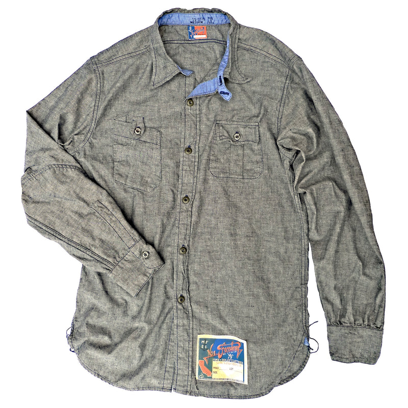 NOS Chambray Shirt - Black