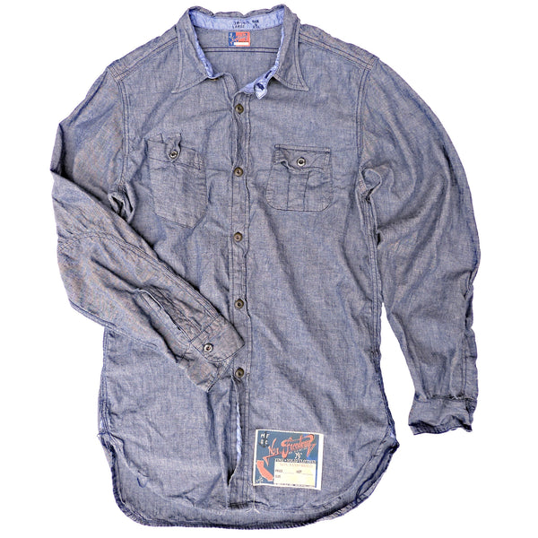 NOS Chambray Shirt Blue