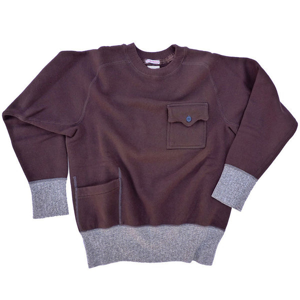 Mechanic Sweatshirt - Brown