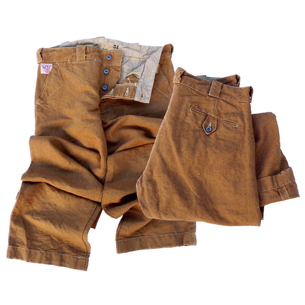 Britches Chaparral - Brown Canvas