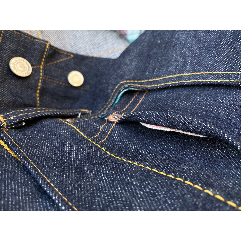 Coin pocket selvedge. Mister Freedom® Californian Lot 64 SC66