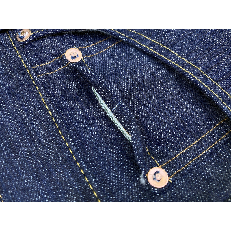 "CALIFORNIAN LOT. 674 - ""HAWAII"" DENIM Coin pocket with concealed selvedge"