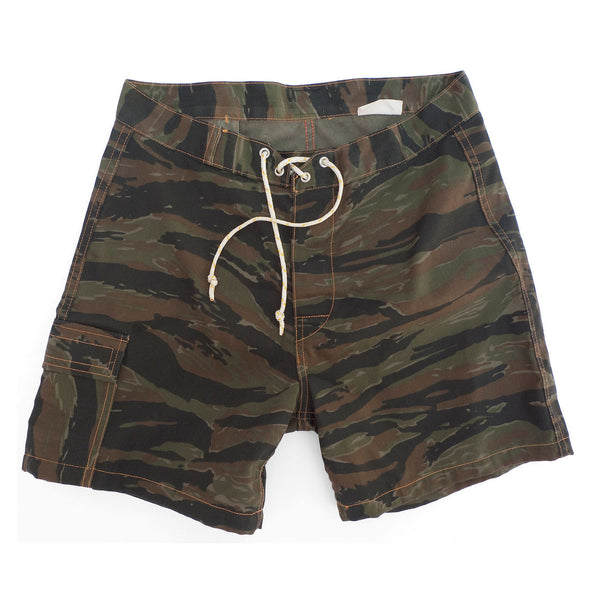 "Aventure Beach Trunks ""Tiger Stripe"""