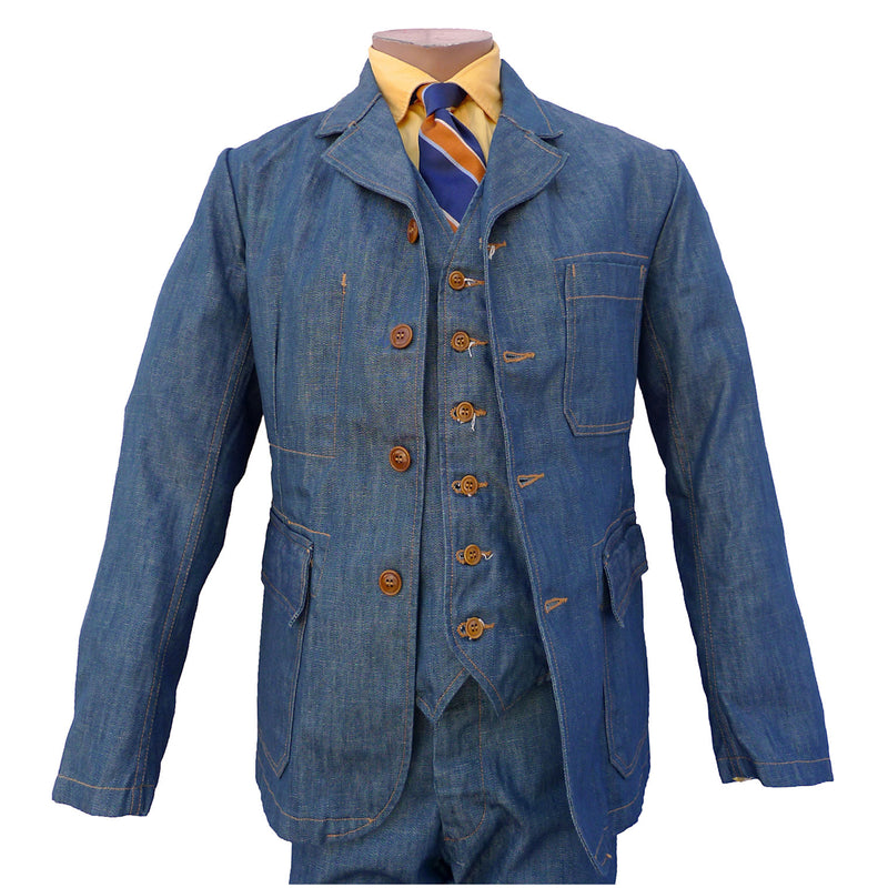 Continental Sportcoat - Player Denim