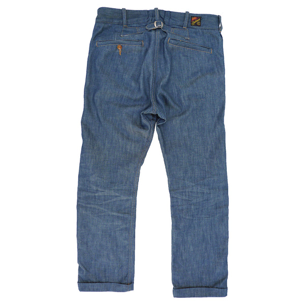 Continental Trousers - Player Denim