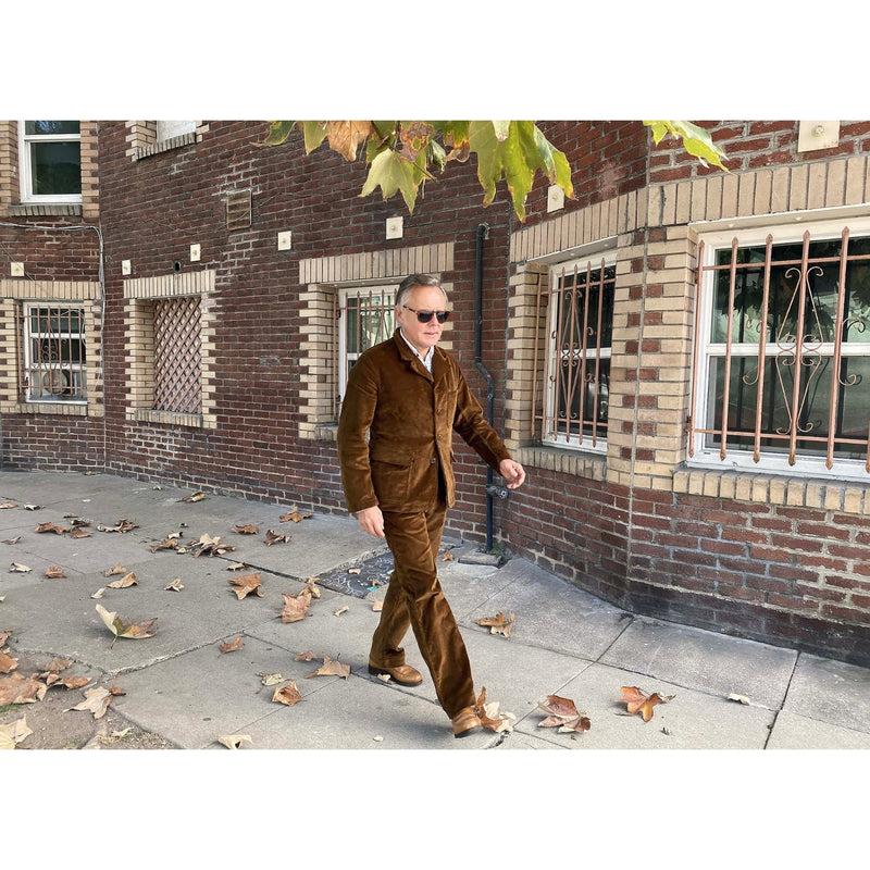 "Continental Trousers and Sportcoat ""Rive Gauche"" worn by Christophe Loiron"
