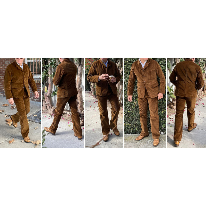 Continental Trousers fit pic by Christophe Loiron