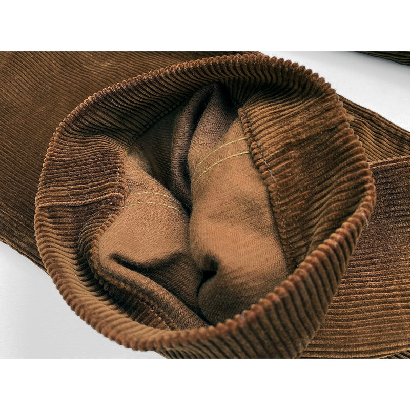 Continental Trousers Flat-felled (caballo) leg out seam