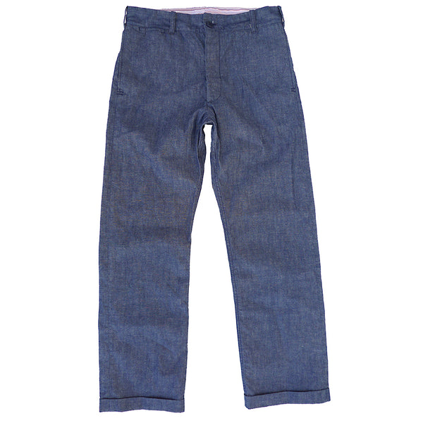Continental Trousers - Chambray